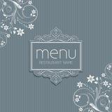 Elegancki menu projekt Obraz Stock