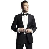 elegancki przystojny mężczyzna obrazy stock