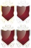 Elegancki Ramowy osłona set Fotografia Stock