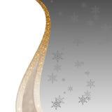 Elegancki srebra, złotego i białego tło dla, Zdjęcia Royalty Free