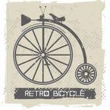 Elegancki stary bicykl Fotografia Royalty Free