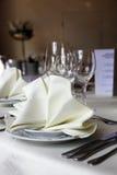 Elegancki stołowy położenie Obrazy Royalty Free