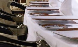 Elegancki stołowy ustawianie Obraz Stock