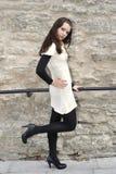 elegancki stonewall kobiet potomstwa obrazy stock