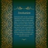 Elegancki tło z koronkowym ornamentem royalty ilustracja