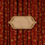 Elegancki tło z koronkowym ornamentem Zdjęcia Stock