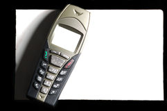 Elegancki telefon komórkowy Obrazy Stock