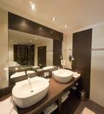 elegancki washroom Obraz Royalty Free