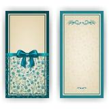 Elegancki wektorowy szablon dla luksusowego zaproszenia, Zdjęcia Royalty Free