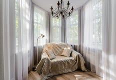 elegancki wewnętrzny pokój obraz royalty free
