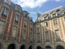 Elegancki widok w Paryż obrazy royalty free