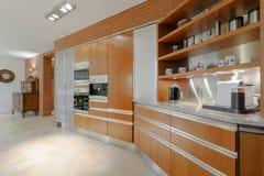 Elegancki wnętrze galanteryjny mieszkanie Zdjęcie Stock