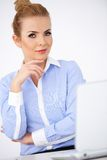 Elegancki wyszukany bizneswoman Fotografia Stock