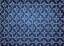 Elegancki wzór na gradientowym błękitnym tle Obrazy Stock