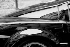Elegancki zakończenie up sporta luksusu samochód Obraz Royalty Free