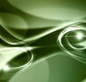Elegancki zielony abstrakcjonistyczny tło Obrazy Stock