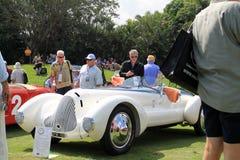 Eleganckich klasycznych 1930s sporst włoski samochód Fotografia Royalty Free
