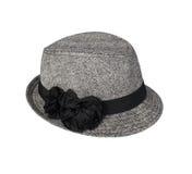 eleganckie kapelusz kobiety s Zdjęcia Royalty Free
