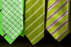 eleganckie krawaty Fotografia Stock