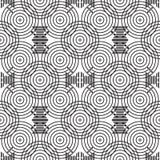 Eleganckiego Czarny I Biały Monochromatycznego Geometrycznego grafika wzoru VecStylish grafiki Czarny I Biały Monochromatyczny Ge Obrazy Stock