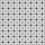 Eleganckiego Czarny I Biały Monochromatycznego Geometrycznego grafika wzoru VecStylish grafiki Czarny I Biały Monochromatyczny Ge Fotografia Stock