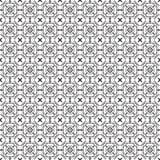 Eleganckiego Czarny I Biały Monochromatycznego Geometrycznego grafika wzoru VecStylish grafiki Czarny I Biały Monochromatyczny Ge Obrazy Royalty Free
