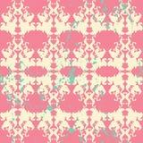 Eleganckiego farby Splatter Bezszwowy wzór Obrazy Royalty Free