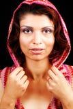 eleganckiego splendoru portreta zmysłowa kobieta obraz royalty free