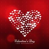 Eleganckiego valentines dnia tła wektorowy projekt Fotografia Royalty Free