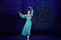 """Eleganckiej czarodziejki """"One Tysiąc i Jeden Nights†baletniczy  Zdjęcie Stock"""