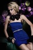eleganckiej mody wysoka kobieta Zdjęcie Stock