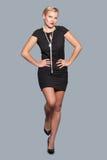 Elegancy stylish glamour girl Royalty Free Stock Photography