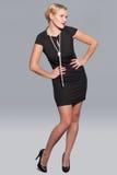 Elegancy stylish glamour girl Royalty Free Stock Image