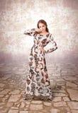 Elegancy stylish lady Royalty Free Stock Image