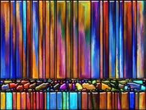 Elegans av färg Arkivbild