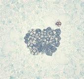 Elegansbakgrund med blommor Royaltyfria Bilder