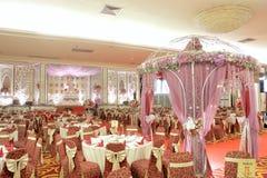 Elegansbröllopgarnering royaltyfria bilder
