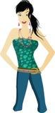 elegansgreen Royaltyfri Foto