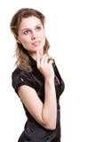 eleganskvinna Fotografering för Bildbyråer