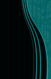 Elegant. Background vertical green and black Royalty Free Stock Image