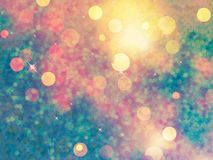Elegant abstract background with bokeh. EPS 10 Royalty Free Stock Photo
