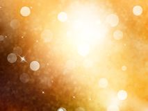 Elegant abstract background with bokeh. EPS 10 Stock Photography