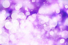 Elegant abstract background with bokeh lights and stars Royalty Free Stock Photography