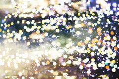 Elegant abstract background with bokeh lights and stars Stock Photos