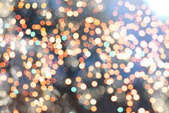 Elegant abstract background with bokeh lights and stars Royalty Free Stock Images
