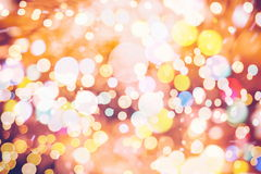 Elegant abstract background with bokeh lights and stars Royalty Free Stock Photo