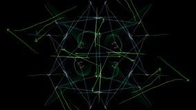Elegant abstract background design. Silk symmetry series royalty free illustration