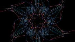 Elegant abstract background design. Silk symmetry series vector illustration