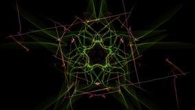 Elegant abstract background design. Silk symmetry series stock illustration