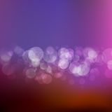 Elegant abstract background. plus EPS10. Purple Festive Christmas background. Elegant abstract background with bokeh defocused lights. plus EPS10 vector file Stock Images